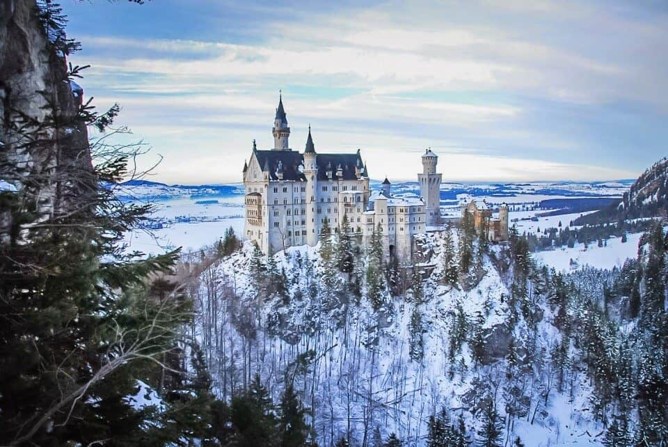 Winter Wonderland: Photograph Neuschwanstein Castle