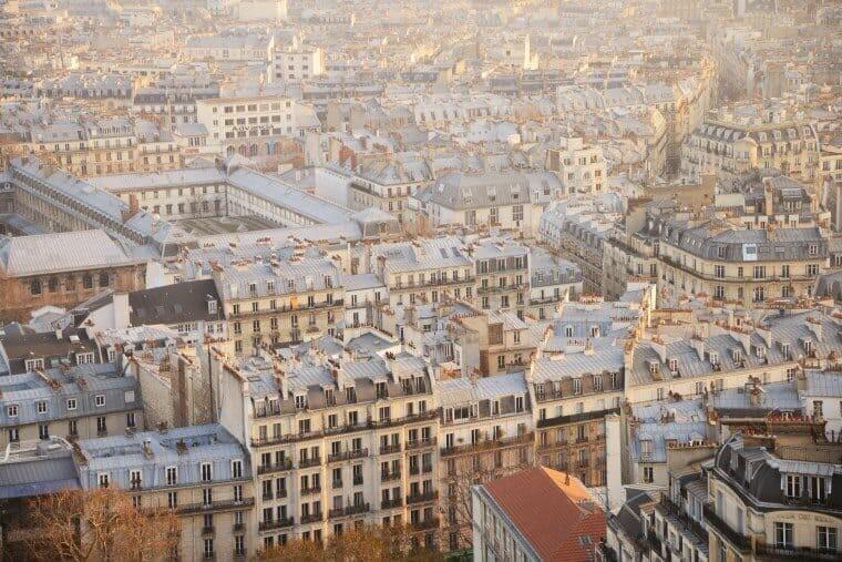 Sacre Coeur Paris View