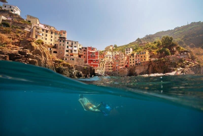 Cinque Terre, The World from The Water by The Wandering Lens www.thewanderinglens.com