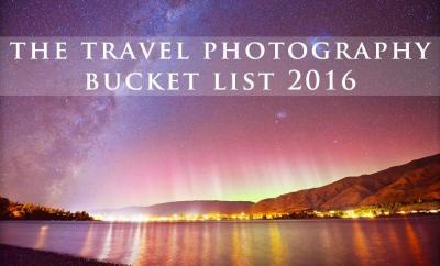 The Travel Photography Bucket List for 2016 by The Wandering Lens www.thewanderinglens.com