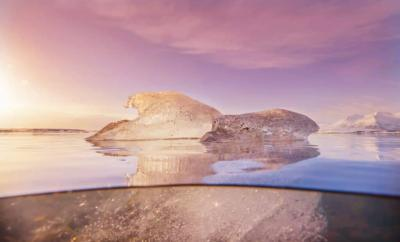 Iceland Water and Ice by Lisa Michele Burns of The Wandering Lens