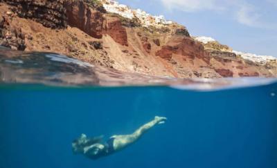 Ammoudi Secret Santorini Beach