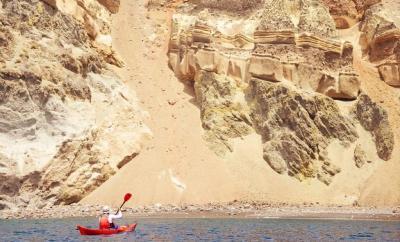 Santorini Kayak Tour by The Wandering Lens