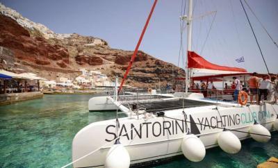 Santorini Sailing Day Trip by The Wandering Lens header