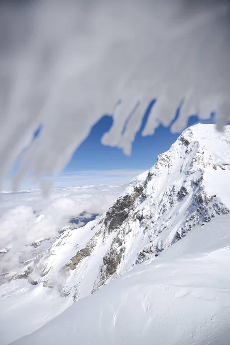 Jungfrau photography locations, switzerland