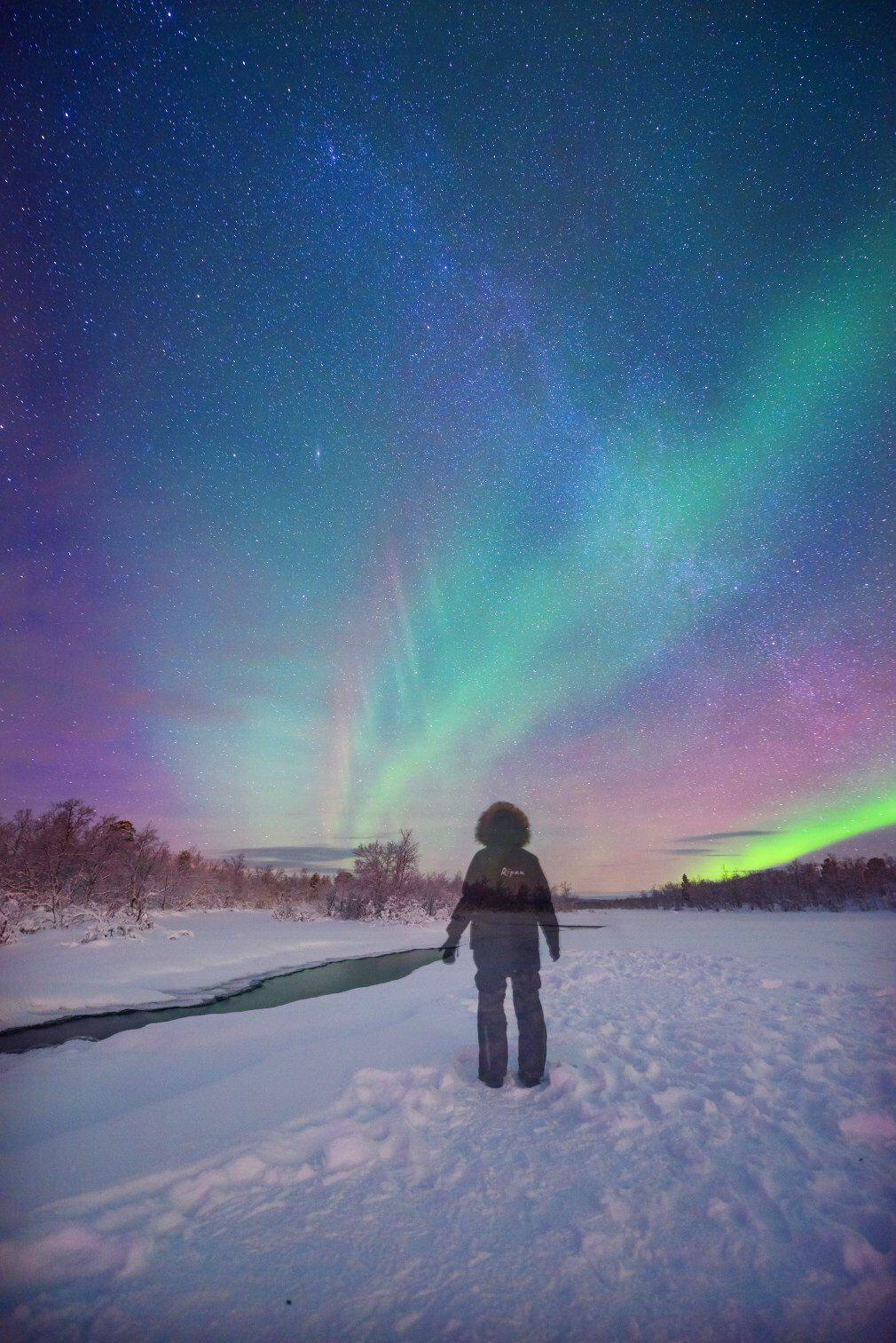 Kiruna, Sweden where to photograph the northern lights