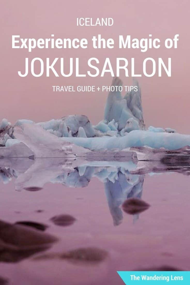 Jokulsarlon Glacier Lagoon travel guide by The Wandering Lens - Travel Photographer Lisa Michele Burns