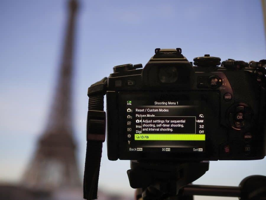 Timelapse Paris Eiffel Tower with Olympus Australia