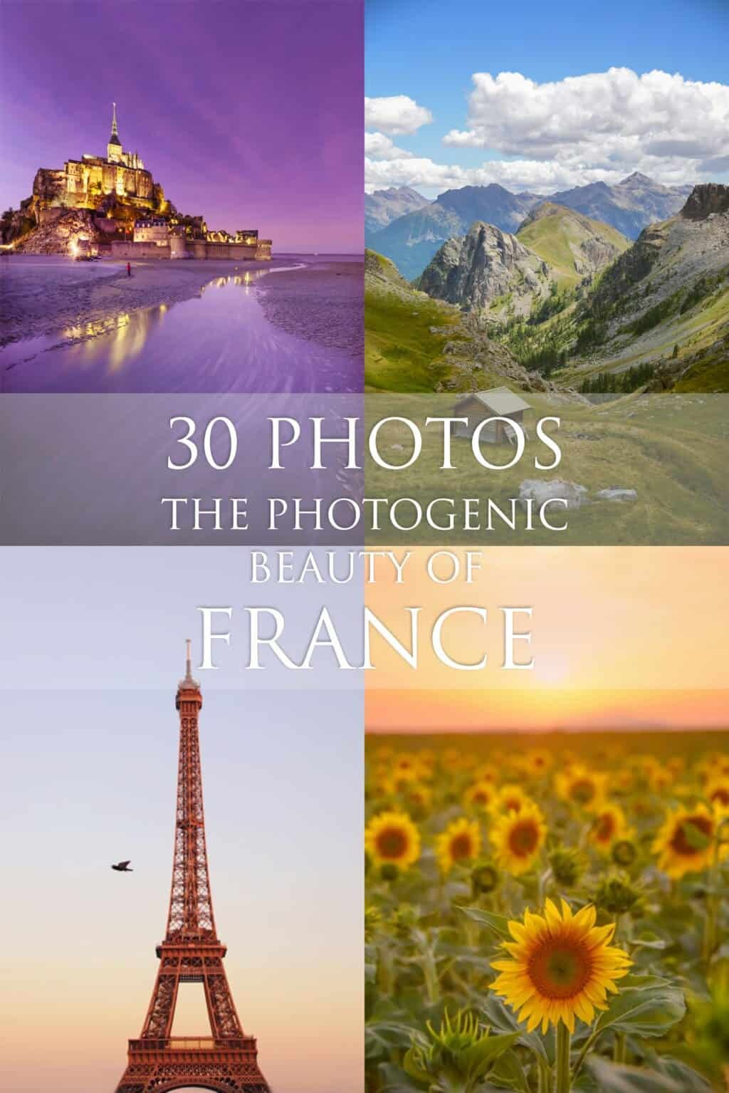 Travel in France, where to go in France and see natural beauty, outdoors experiences and Paris photo locations by The Wandering Lens
