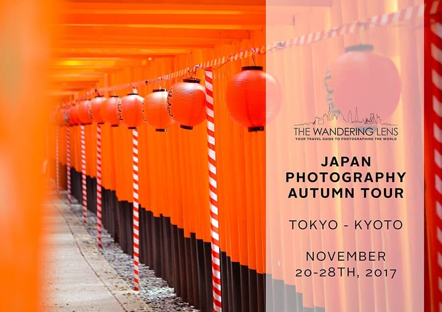 Japan Photography Workshop with Lisa Michele Burns of The Wandering Lens