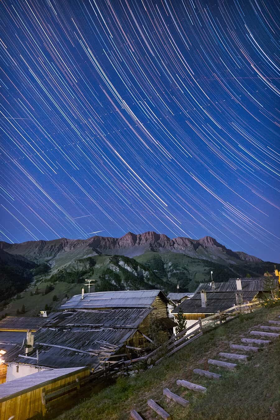 How to Take Star Trails French Alps