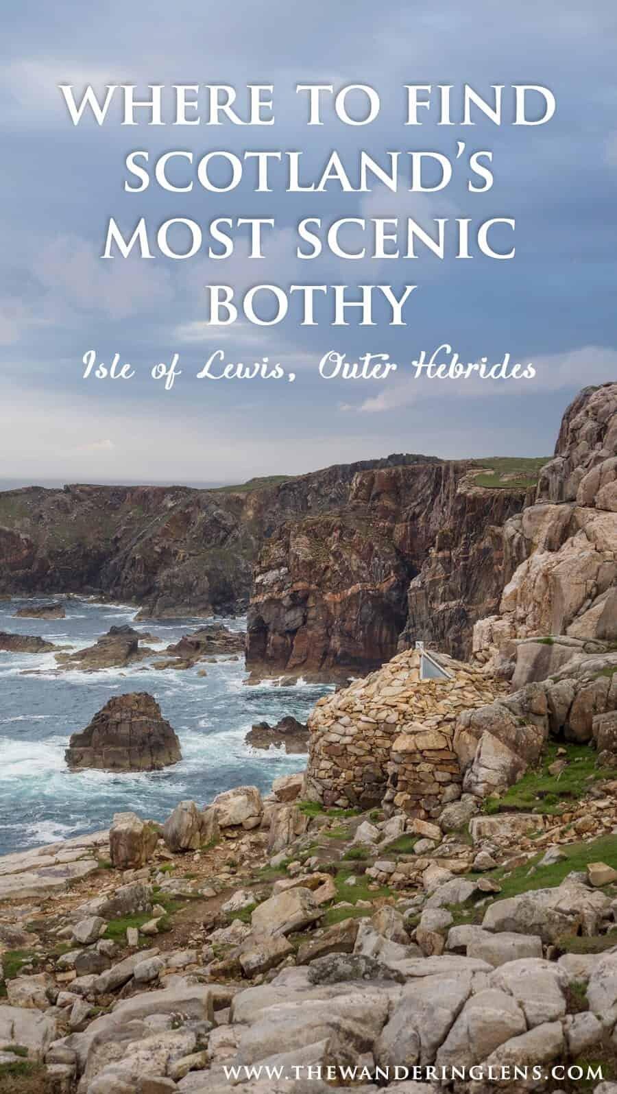 Mangersta Bothy, Uig Isle of Lewis, Outer Hebrides, Scotland
