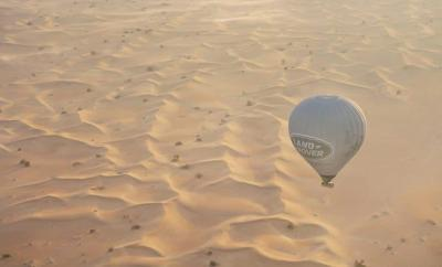 Dubai Hot Air Ballooning - Aerial Photography