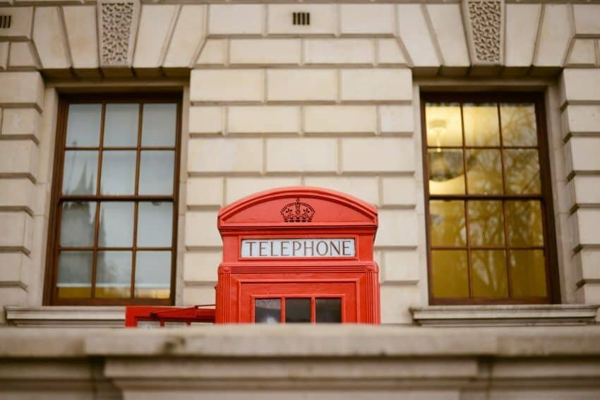 The traditional red phone boxes of London are found all over the city...this one was just on the corner by Big Ben.