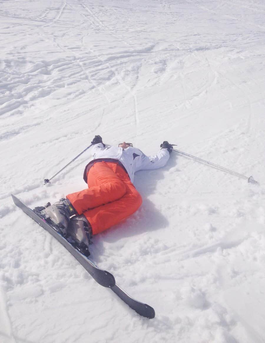 My day on the slopes went a little like this...
