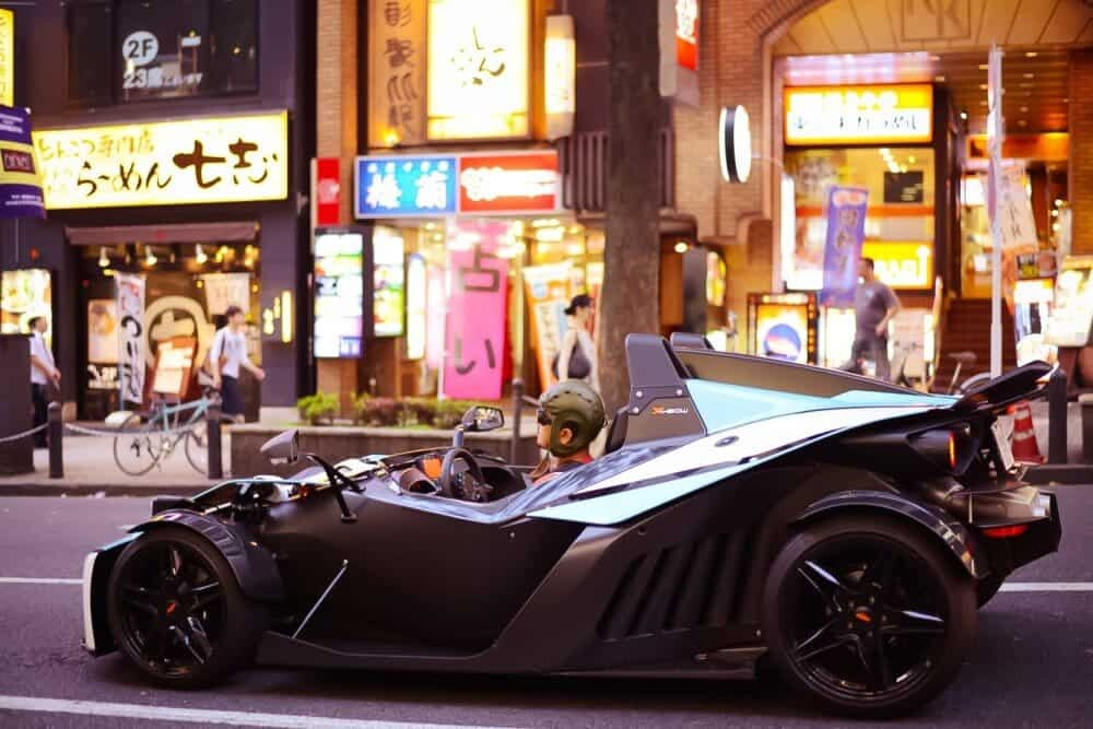 No big deal it's just Batman in Shibuya...