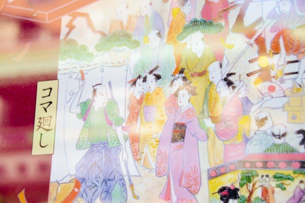 Details at the Sensoji Temple