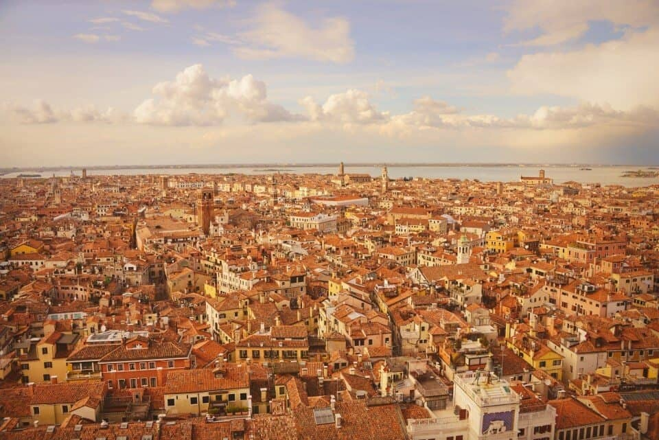 Venice Italy from Campanile