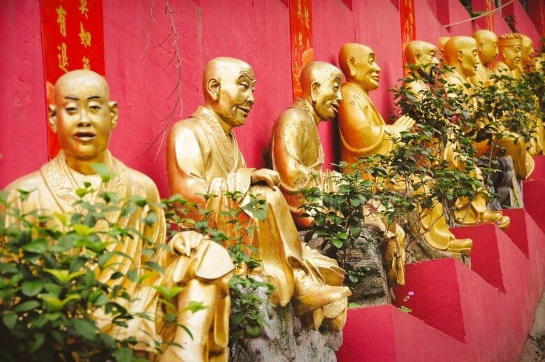 Hong Kong Ten Thousand Buddhas Monastery
