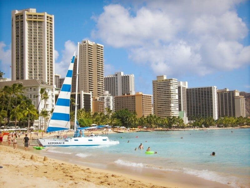 Waikiki Beach - Hawaii - The Wandering Lens