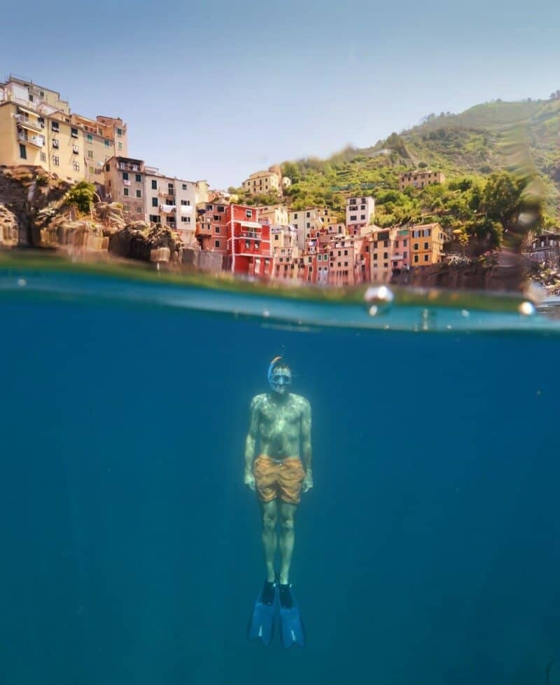 Travel Photography - Underwater Photography - Unique Angle Example, The Wandering Lens www.thewanderinglens.com