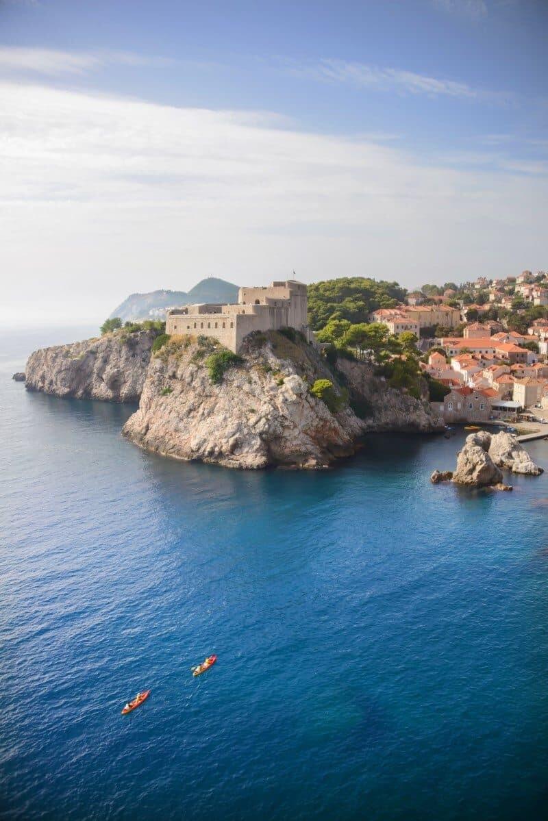 Dubrovnik kayak tour