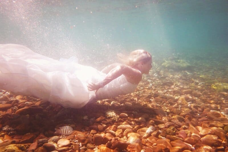 This was taken during my first underwater shoot, looking back I can absolutely see how I became a little obsessed with seeing the world this way...Blue Pearl Bay, Australia