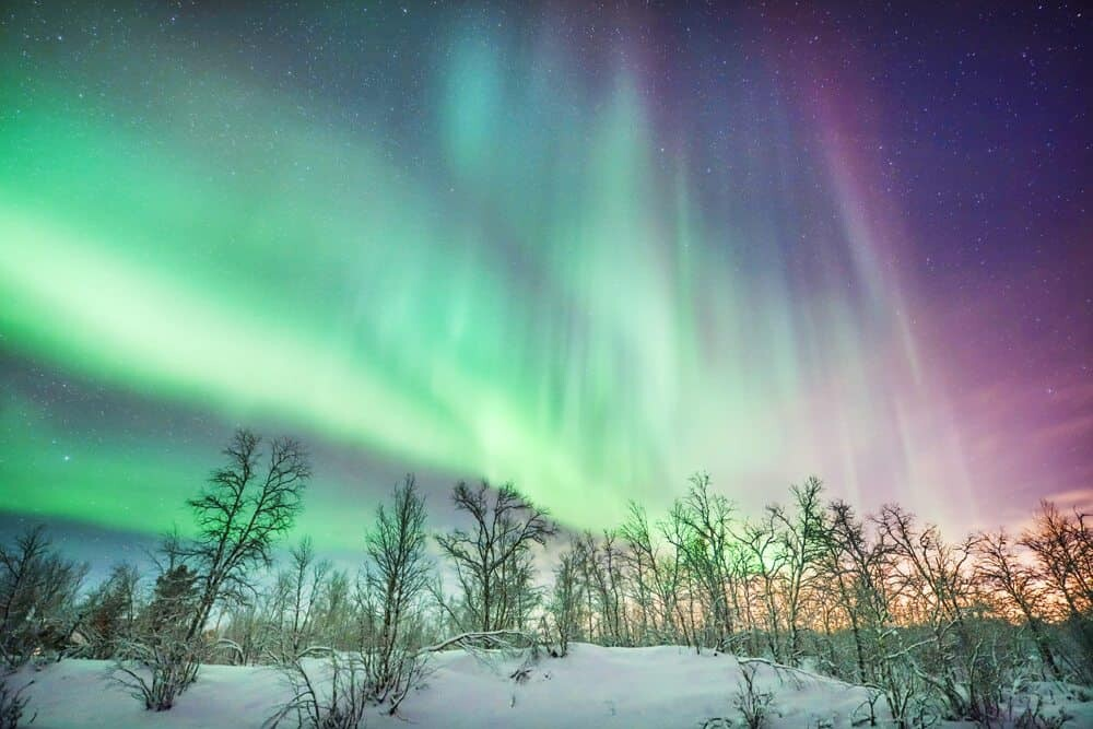 How To Photograph The Northern Lights The Wandering Lens