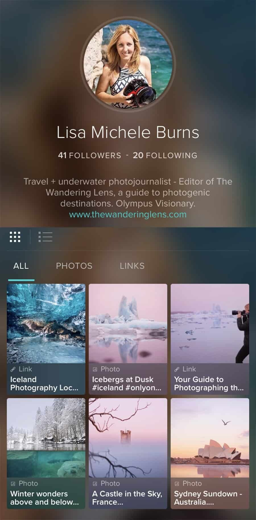 40de49a8a2a1 Social Media for Photographers - The best apps by Lisa Michele Burns of The  Wandering Lens