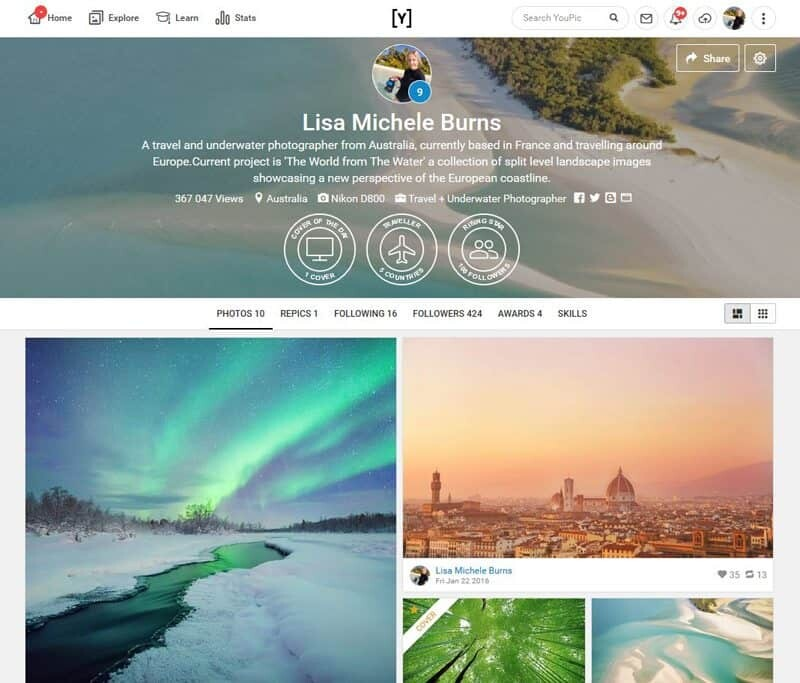 Social Media for Photographers - The Best 6 Platforms for