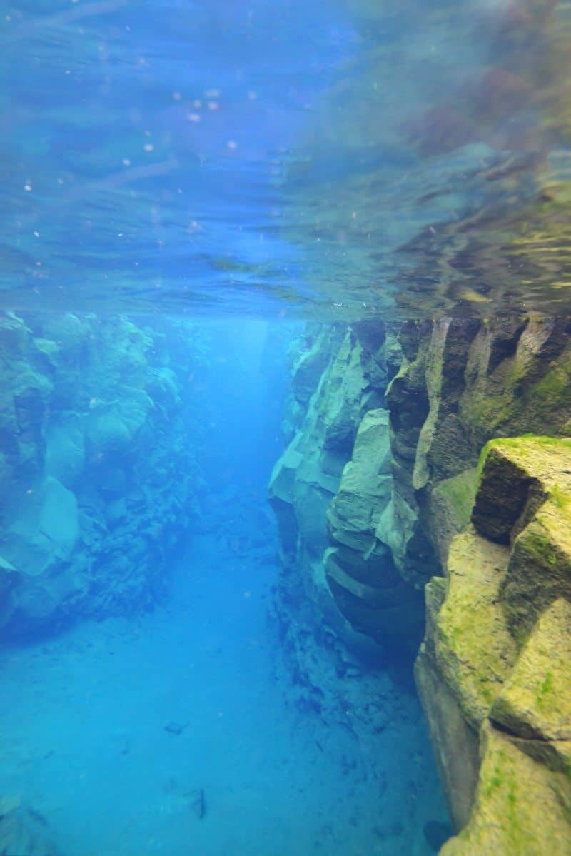 Snorkelling Silfra in Iceland between continents by The Wandering Lens www.thewanderinglens.com