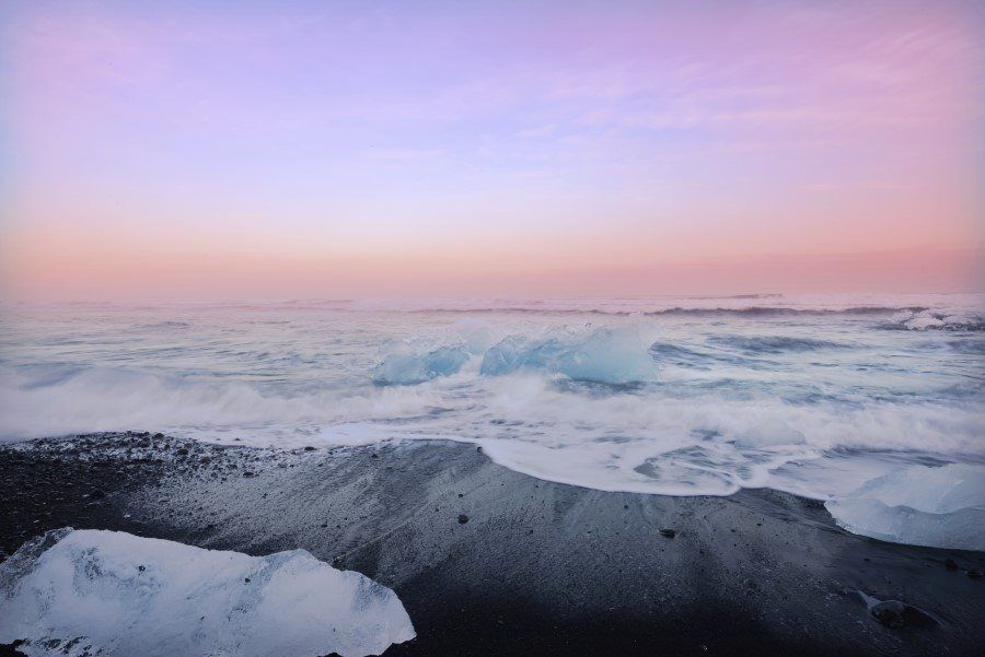 Iceland Photography - Water and Ice by Lisa Michele Burns of The Wandering Lens