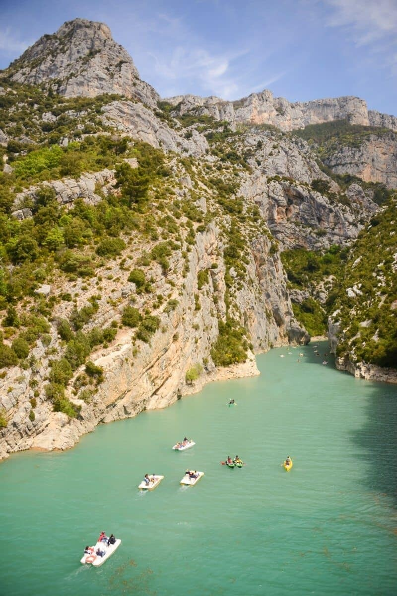 The Most Beautiful Villages of Provence, France, Gorges du Verdon