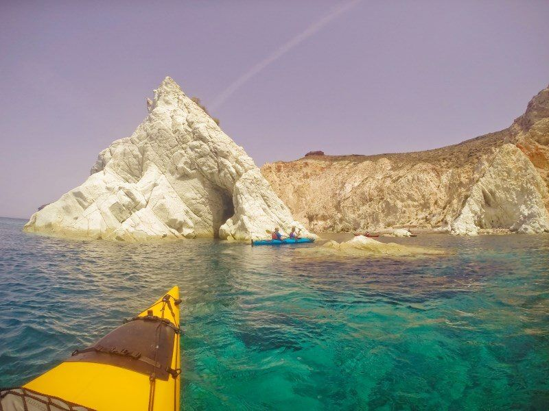 Santorini Kayak Tour by The Wandering Lens
