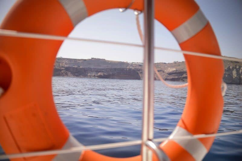 Santorini Sailing Day Trip by The Wandering Lens 17