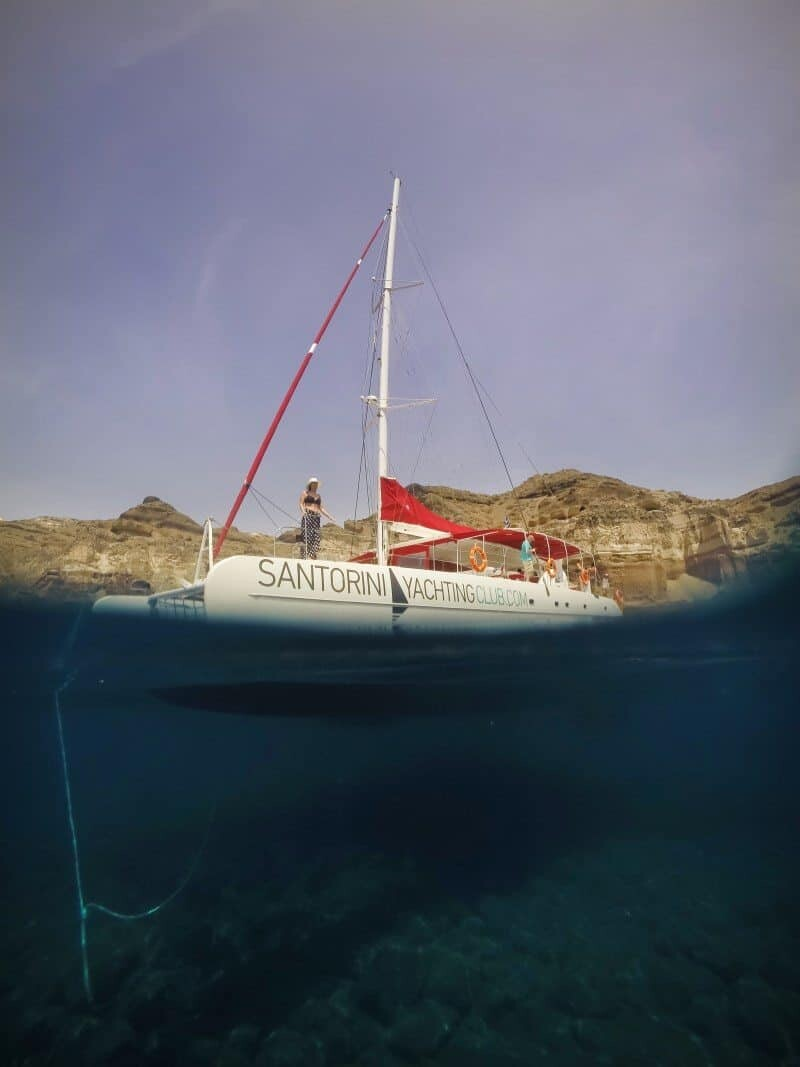 Santorini Sailing Day Trip by The Wandering Lens 26