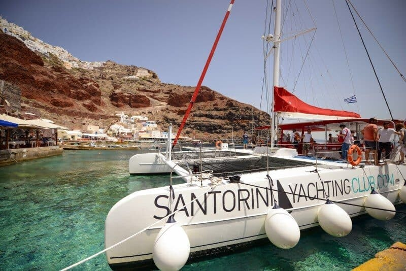 Santorini Sailing Day Trip by The Wandering Lens 30