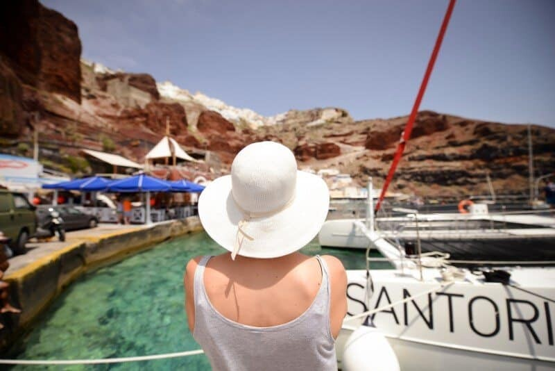 Santorini Sailing Day Trip by The Wandering Lens 31