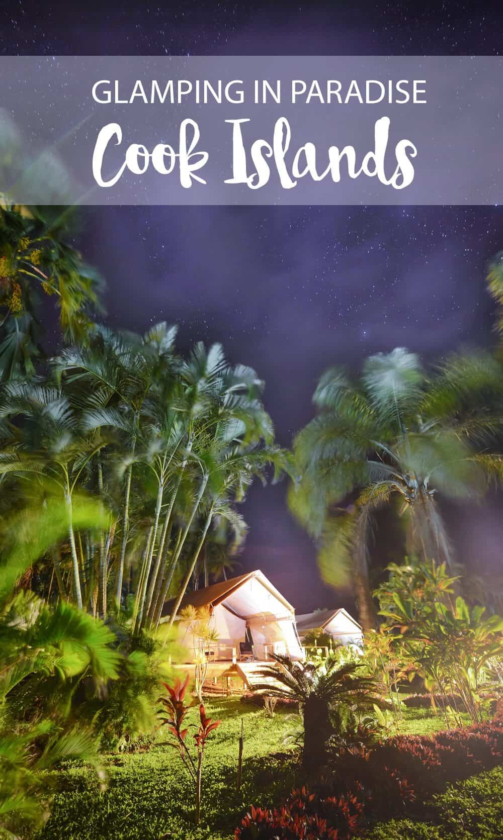 Glamping in the Cook Islands - find out where on The Wandering Lens here - http://tinyurl.com/jzrnrk5