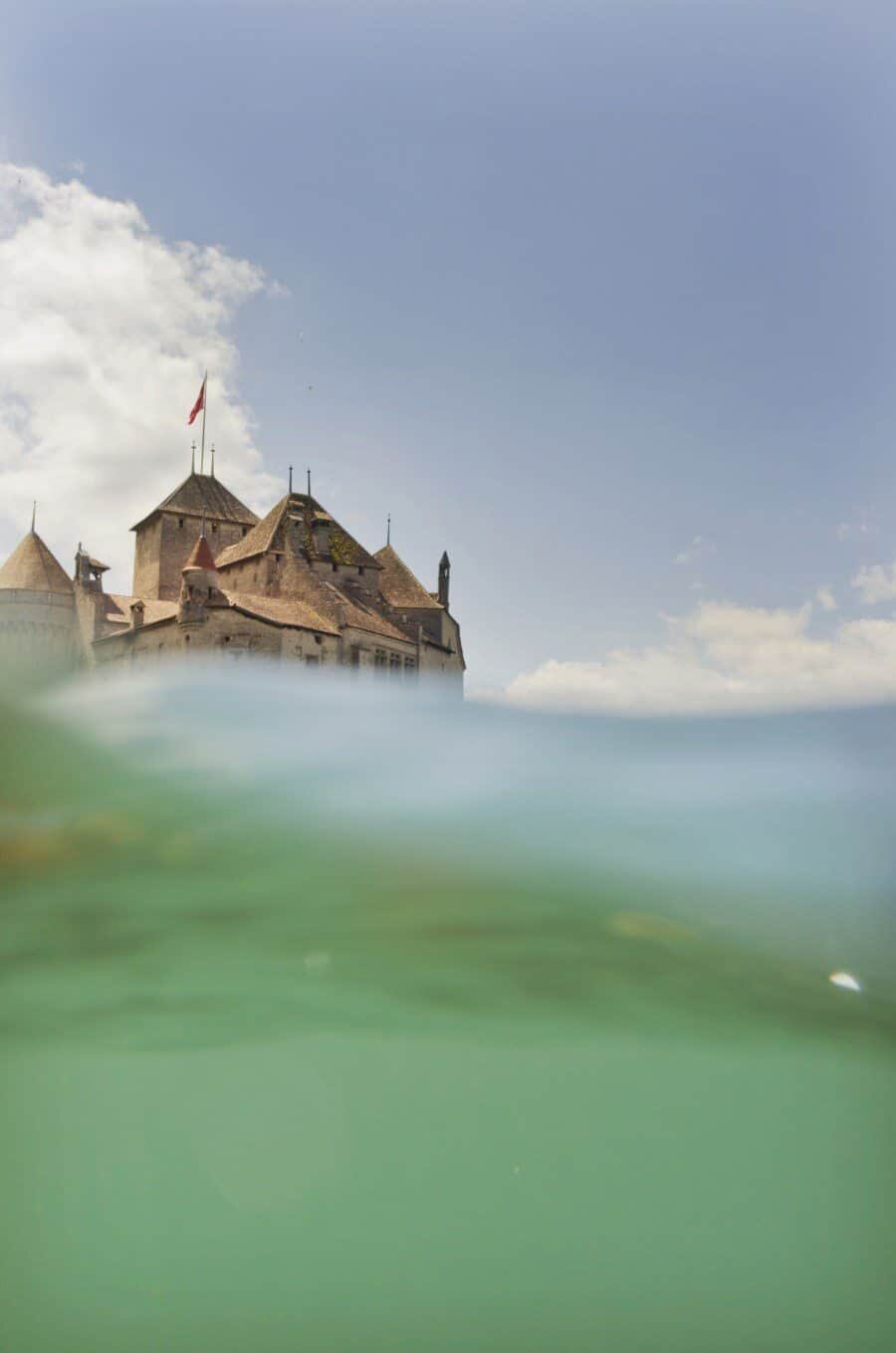 Chateau de Chillon, Lake Geneva, Switzerland