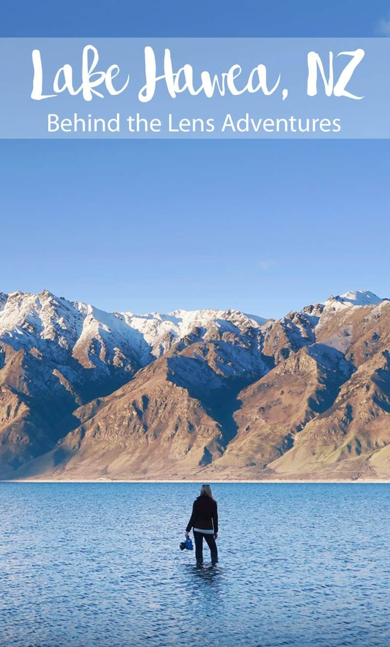 Lake Hawea, New Zealand by The Wandering Lens travel photography