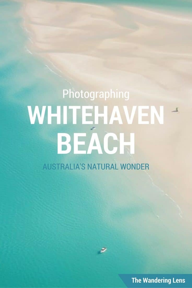 Whitehaven Beach, Australia photographed by Lisa Michele Burns of The Wandering Lens
