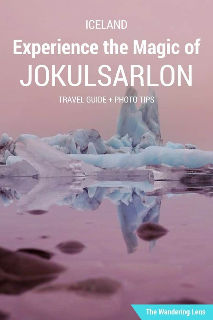 Jokulsarlon Glacier Lagoon travel guide by The Wandering Lens - Travel Photographer Lisa Michele Burns