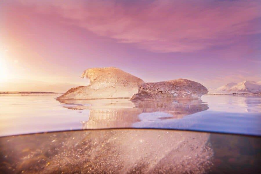 Jokulsarlon, Iceland - Top 10 Places to Photograph Sunset around the world