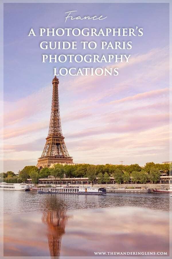 Paris Photography Locations - A Guide to the Best Photo Locations in Paris by professional photographer Lisa Michele Burns
