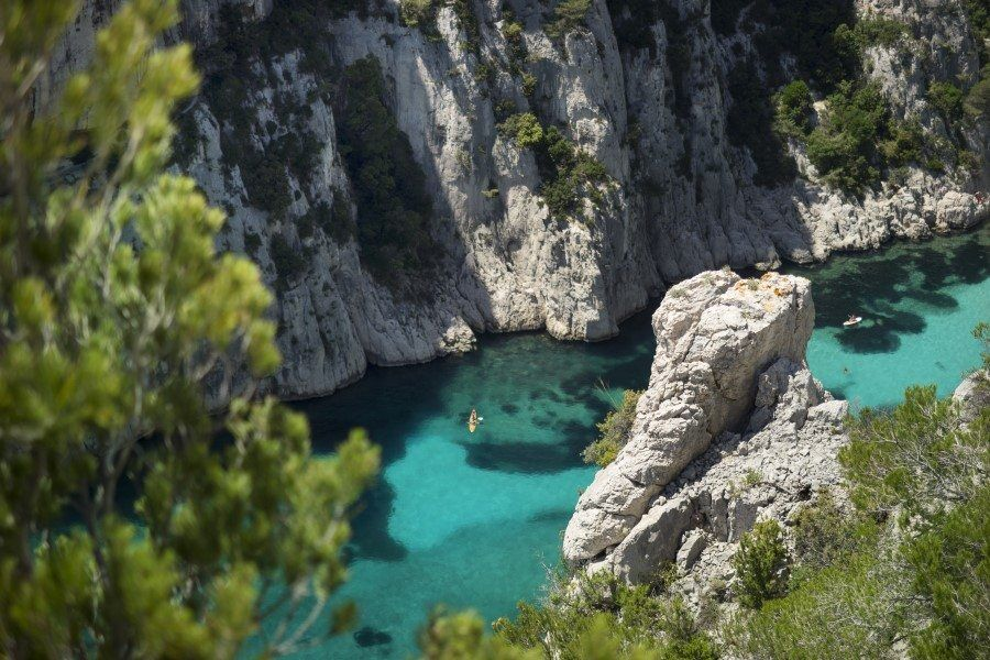 Calanque d'En Vau Cassis and Marseille Hiking
