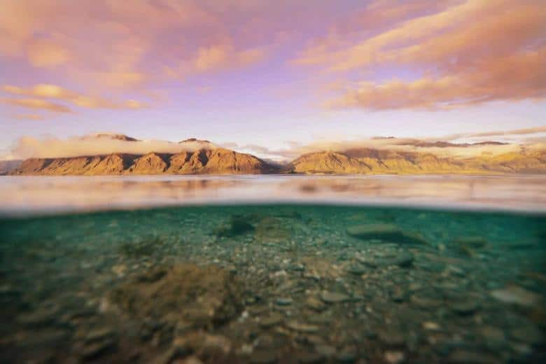 New Zealand Landscapes of Lake Hawea - Improve your travel photography by The Wandering Lens