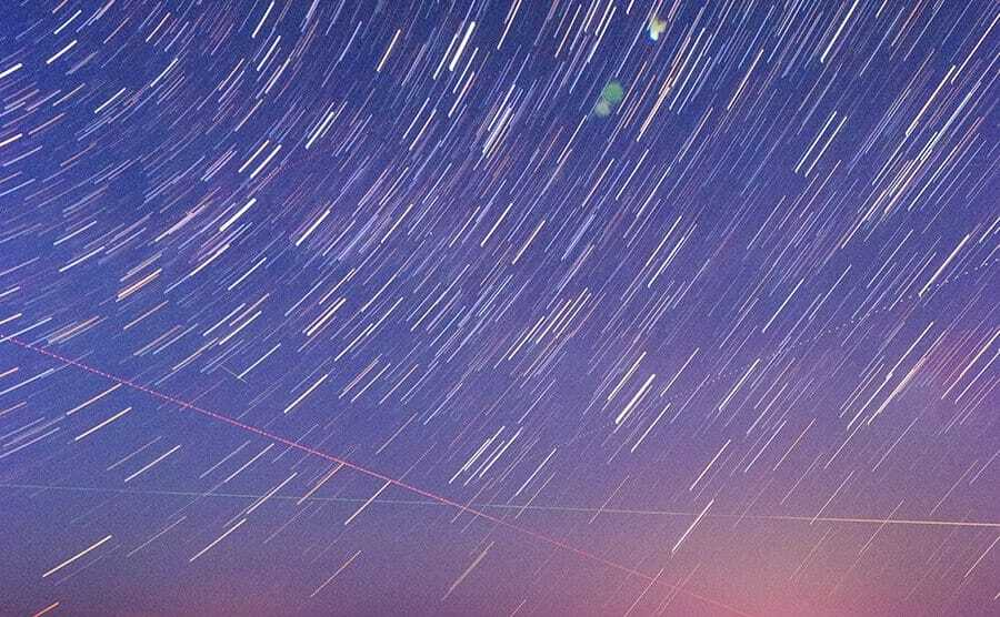 How to Take Star Trails with an Olympus camera