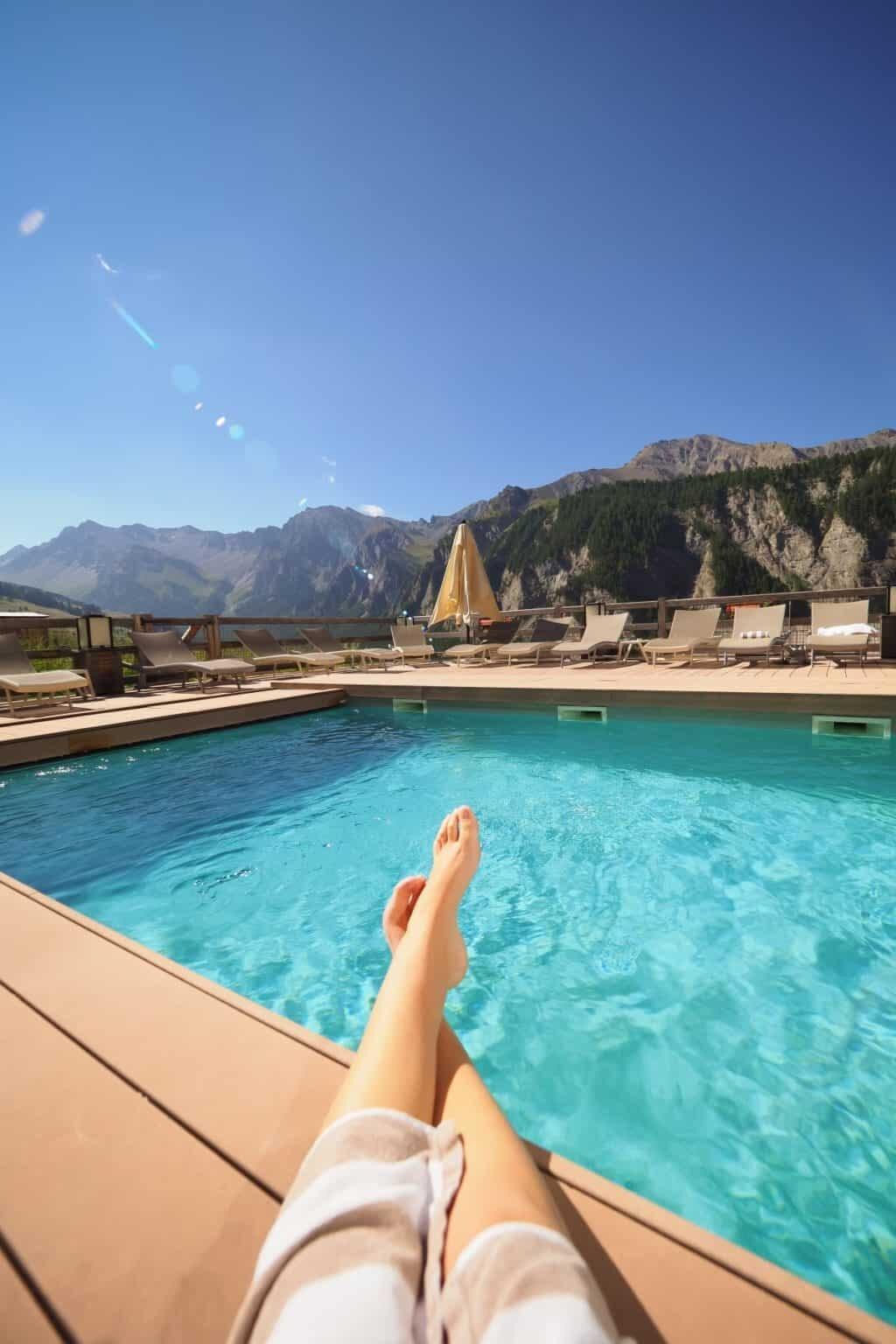 saint veran france europe 39 s highest village hotel alta peyra review the wandering lens. Black Bedroom Furniture Sets. Home Design Ideas