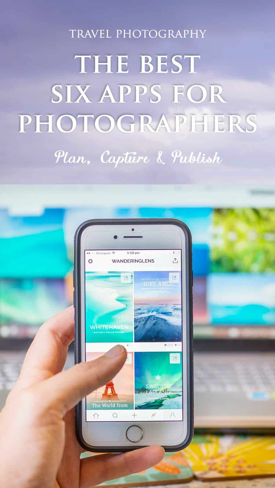 The Best Apps for Travel Photographers